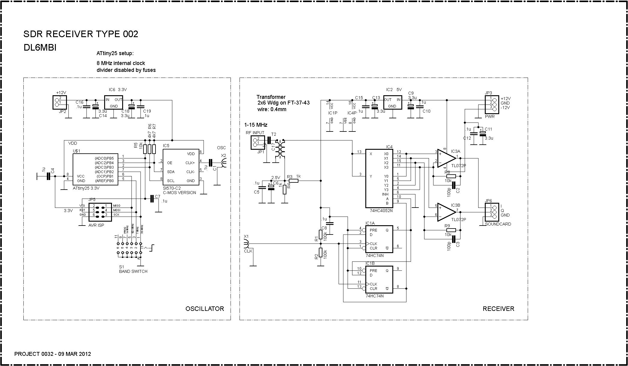 PR0032 CIRCUIT DIAGRAM